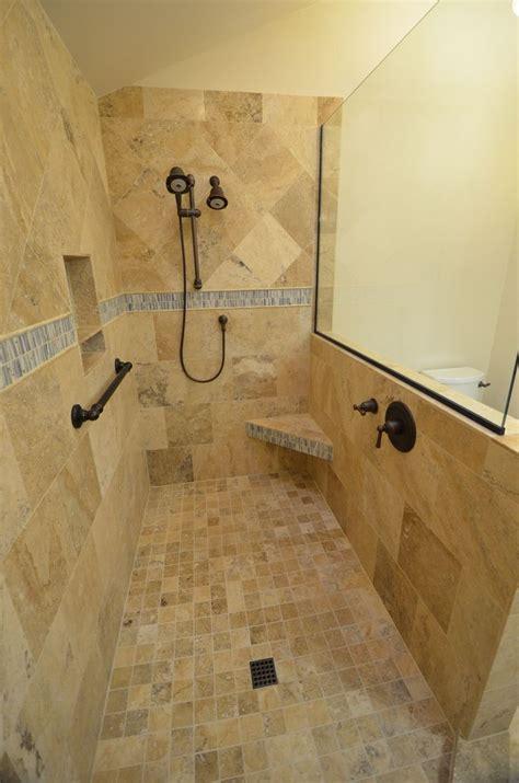 beautiful bathroom design ideas  doorless shower