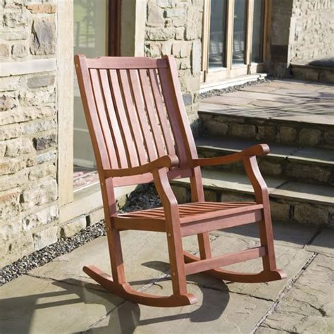 Indoor Rocking Chair Uk by Wellwood Traditional Classic Fsc Hardwood Rocking Chair