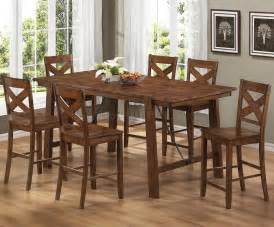 counter height kitchen island dining table 104188 lawson counter height dining table by coaster w options