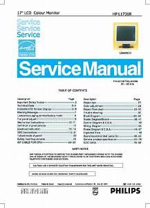 Hp L1730r Lcd Monitor Service Manual Service Manual Download  Schematics  Eeprom  Repair Info