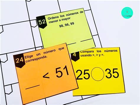comparacion de numeros comparing  digit numbers