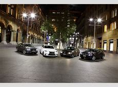 2013 BMW 320i vs Audi A4 vs MercedesBenz C200 vs Lexus IS