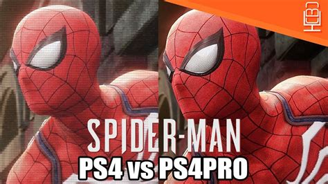 Spiderman Ps4 Vs Ps4 Pro & What To Expect Youtube