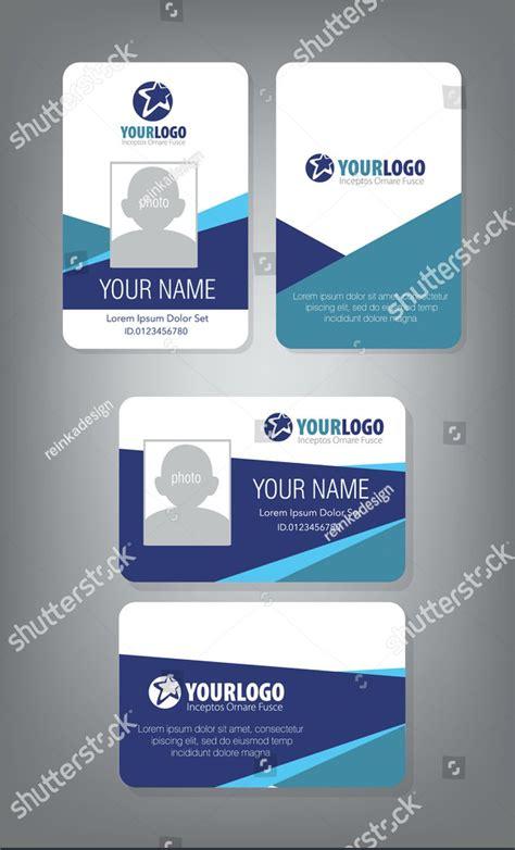 professional id card designs psd eps ai word