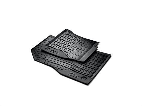 audi floor mats q5 audi q5 all weather floor mats front rear 80b061221041 genuine audi accessory
