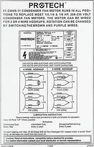 Rheem  Ruud Condenser Fan Motor 51