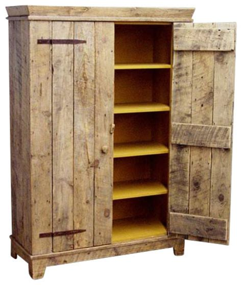 rustic storage cabinet with doors rustic barnwood kitchen cabinet rustic storage