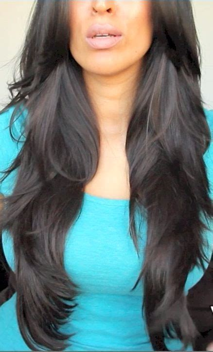 17 best images about long straight layered hairstyles on
