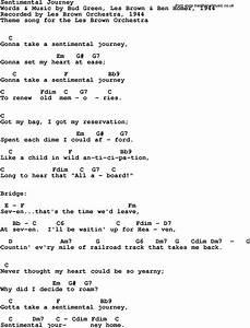 Sentimental Journey (song)