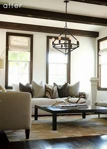 Traditional Apartment With Dark Woods Interior Design