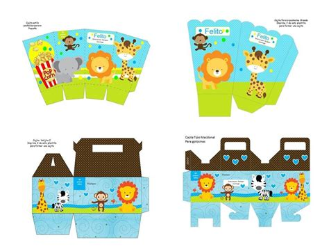 kit imprimible animales selva mini oferta 2x1 tarjeta bs 100 00 en mercado libre