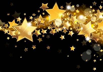 Gold Glitter Stars Sparkle Golden Desktop Wallpapers