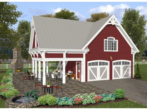 Garage Plans With Porch by Purcell Craftsman Apartment Plan 013d 0161 House Plans