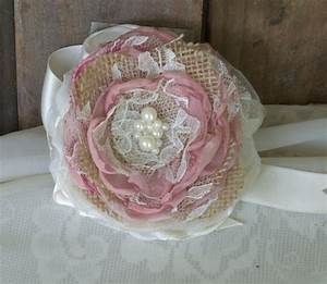 bridal burlap corsage wedding corsage mob and mogwrist With corsage for wedding shower
