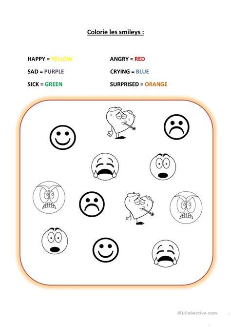mood worksheets kidz activities