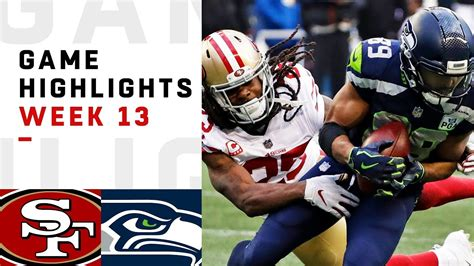 ers  seahawks week  highlights nfl  youtube