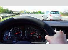 BMW M5 F10 Kickdown 100270 kmh Acceleration on German