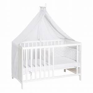 Babybett Am Bett : roba kinder multifunktions bett wei ca 60 x 120 real ~ Frokenaadalensverden.com Haus und Dekorationen