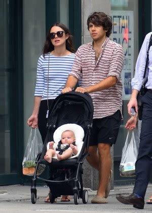 Keira Knightley with Her Family