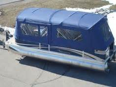 mini troline with enclosure pontoon boat enclosures new boats crestliner boats 7517