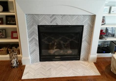 fireplace designs before and after modern family room