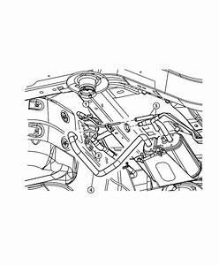 Dodge Stratus Filter  Fuel Vapor Vent  Leak Detection Pump