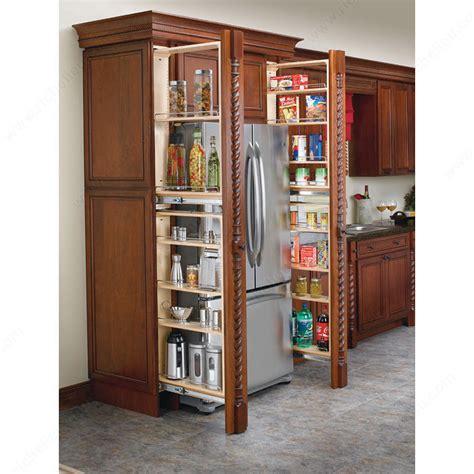 armoire en coin cuisine filler organizer with adjustable shelves richelieu