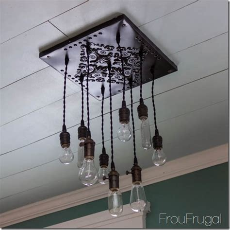 Diy Edison Chandelier by Hometalk How To Make A Bare Edison Bulb Chandelier