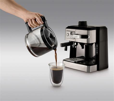 Find espresso machines at wayfair. DeLonghi BC0330T Combination Drip Coffee and Espresso Machine | Gastrocoach