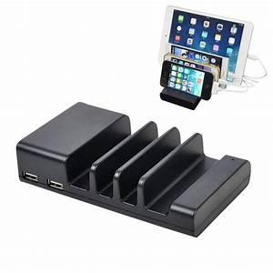 Ipad 4 Dockingstation : ym ud04 5 1a 4 port usb charging dock docking station for iphone iwatch ipad samsung galaxy ~ Bigdaddyawards.com Haus und Dekorationen