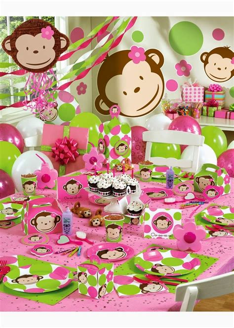 34 Creative Girl First Birthday Party Themes & Ideas My