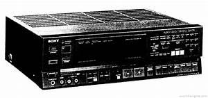 Sony Str-av780 - Manual - Audio Video Receiver
