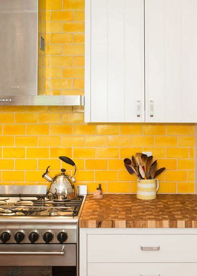 yellow tiles kitchen 25 best yellow tile ideas on 1224