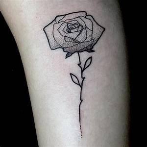 Tatouage De Rose : tatouage fin pour tre plus proche de son inspiration ~ Melissatoandfro.com Idées de Décoration