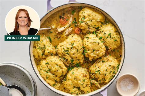 pioneer womans chicken  dumplings recipe