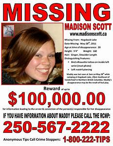 Madison Scott went missing 4 years ago today… – PJXM News