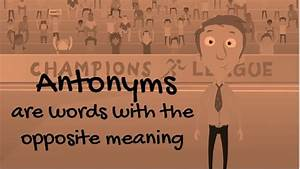 Class 10: Synon... Absurd Synonym