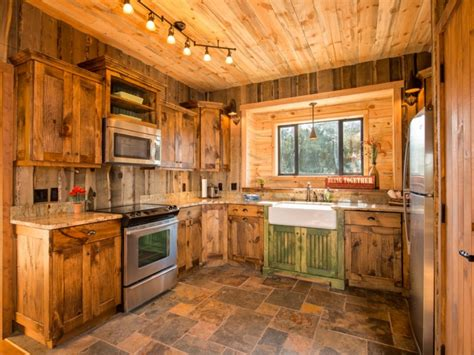 kitchen heartwarming rustic cabin kitchens with timeless