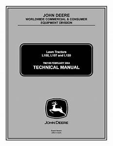 John Deere L105 L107 L120 Lawn Tractors Tm2185 Pdf