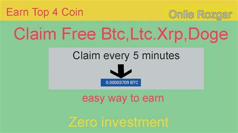 Invite friends to get even. earn free bitcoin every 5 minutes   just click - YouTube