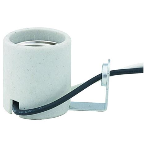 e26 medium base sockets e26 medium base porcelain hickey l socket lcd289