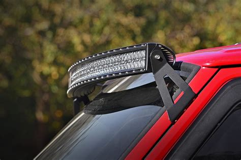 Country Light Bar Mounts country jeep 50 inch curved led light bar