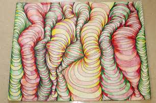 Easy Abstract Art Drawing Ideas
