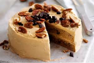 Love This Coffee Pecan Cake