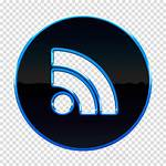 Rss Clipart Icon Feed Clipground