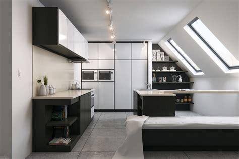 attic kitchen designs attic spaces