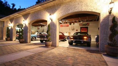 bill goldbergs  car garage california mansion