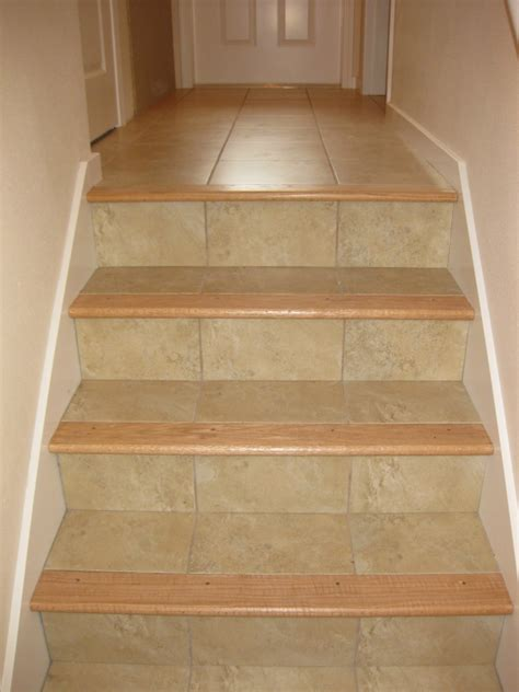 tile flooring on stairs current current pinterest tile stairs foyers and staircases