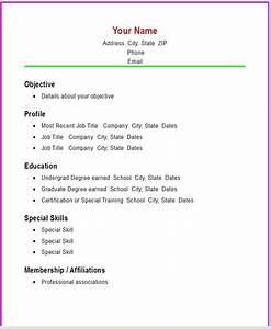 easy resume templates all best cv resume ideas With easy to use resume templates