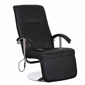 Sessel Mit Massagefunktion : relaxliege relaxsessel ascoli ii mit massagefunktion schwarz leder ebay ~ Indierocktalk.com Haus und Dekorationen